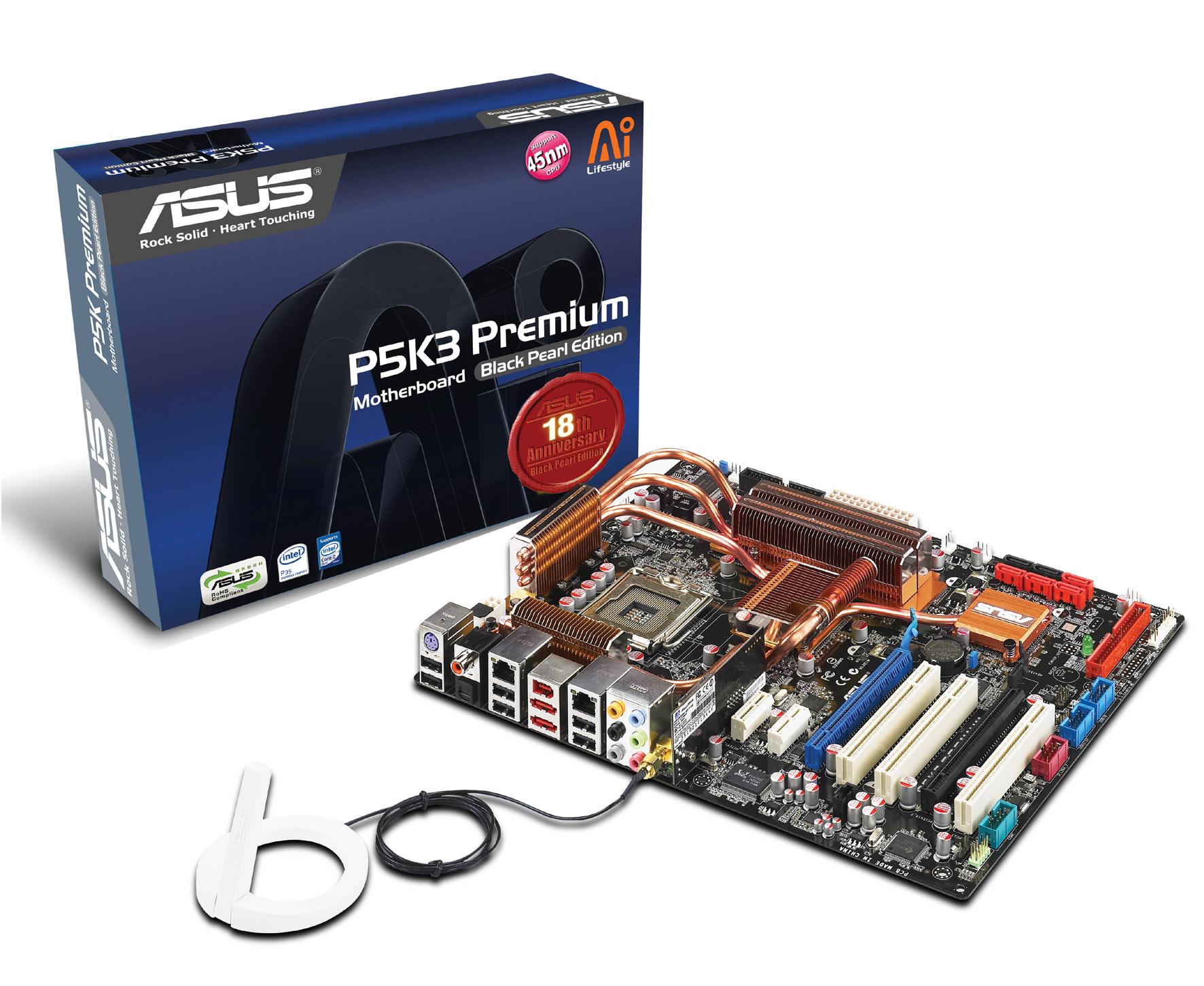 Asus® P5k3 Premium