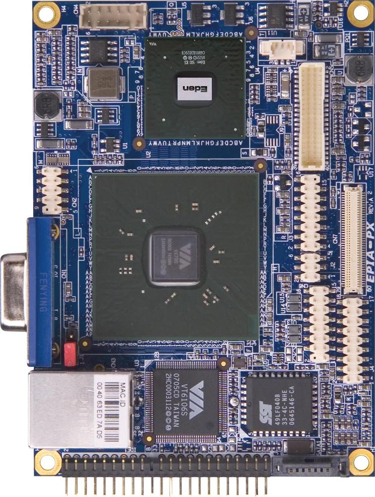 VIA presenta il processore x86 più efficiente sulla scheda più piccola al mondo