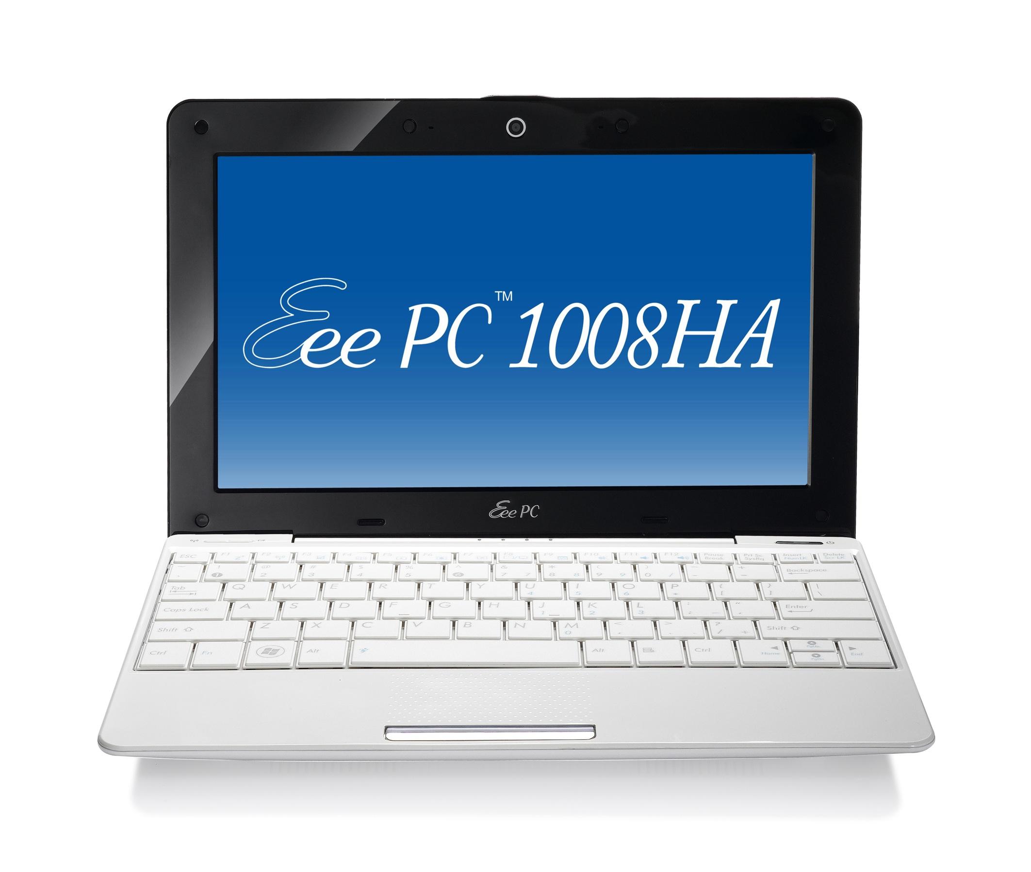 ASUS EeePC 1008HA Seashell, il netbook si rinnova
